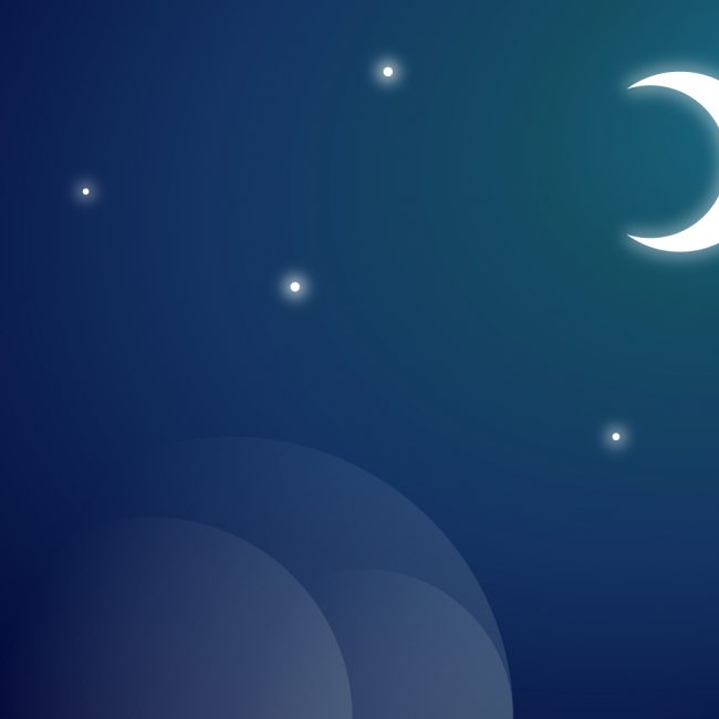 Free vector Moon Vector Background #12704