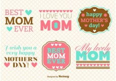 Free vector Mother's Day Message Vectors #19403