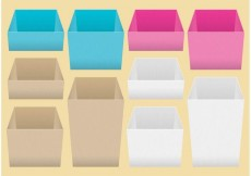 Free vector Perspective Crates #13601