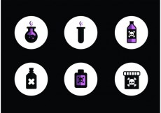 Free vector Poison Vector Pack #17645