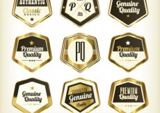 Free vector Premium labels #16012