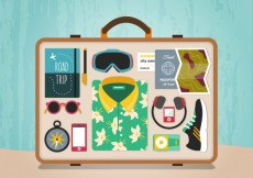 Free vector Ready suitcase #17500