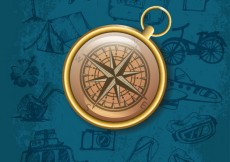 Free vector Realistic compass #17726