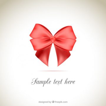 Free vector Red ribbon background #13076