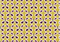 Free vector Retro Butterfly Vector Pattern #16169