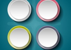 Free vector Round banners #15162