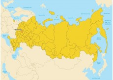 Free vector Russia Map Vector #17014
