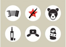 Free vector Russian Vector Icons #18182