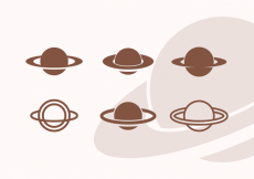 Free vector Saturn Vector Icon Pack Vol 2 #14354