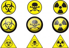 Free vector Sign of Poison Vectors #17553
