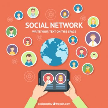 Free vector Social network #18899