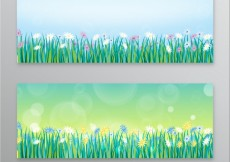 Free vector Spring banners #19201