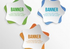 Free vector Star banners #19778