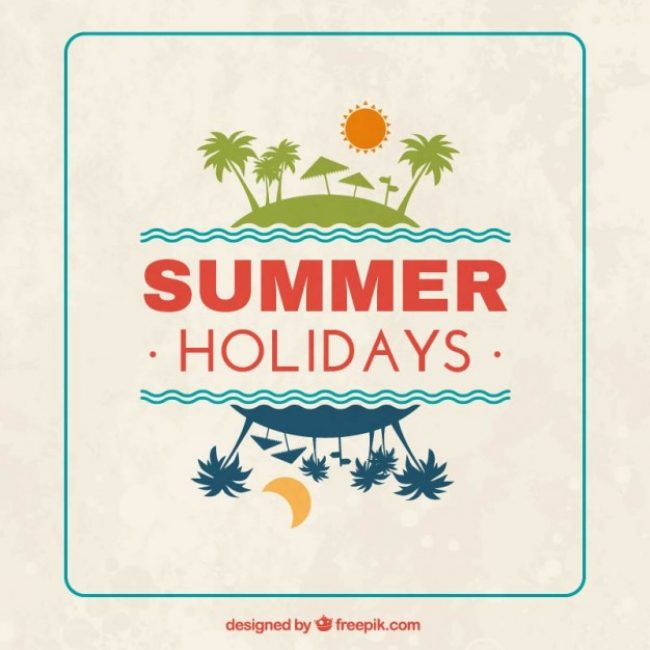 Free vector Summer holidays background #15926