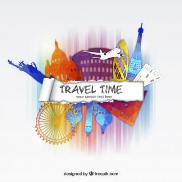 Free vector Travel time background #14787