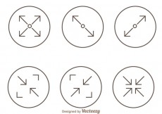 Free vector Trendy Web Page Screen Icons #16729