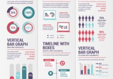 Free vector Variety of infographics #13166