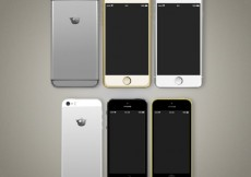 Free vector Variety of mobile phones #12347