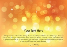 Free vector Abstract Bokeh Background Illustration #12296