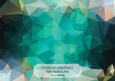 Free vector Abstract Polygon Background Illustration #12436