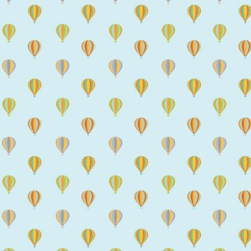 Free vector Air Balloon Pattern Background #12458