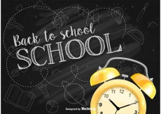 Free vector Back to School Background #13233