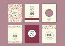 Free vector Decorative Greeting Design #18613