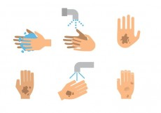 Free vector Vector Dirty Hand Icons #20135