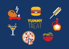 Free vector Food icon set #18553