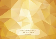 Free vector Gold Abstract Polygon Background Illustration #13865