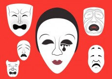 Free vector Vector Illustration of Theatre Masks #15115