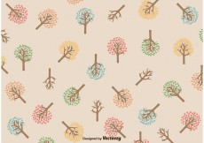 Free vector Seasonal Tree Pattern #18080
