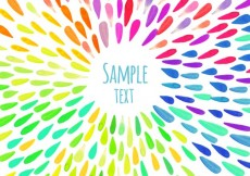 Free vector Watercolor drops background #16797