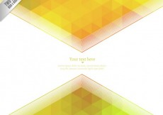 Free vector Yellow geometric background #16847