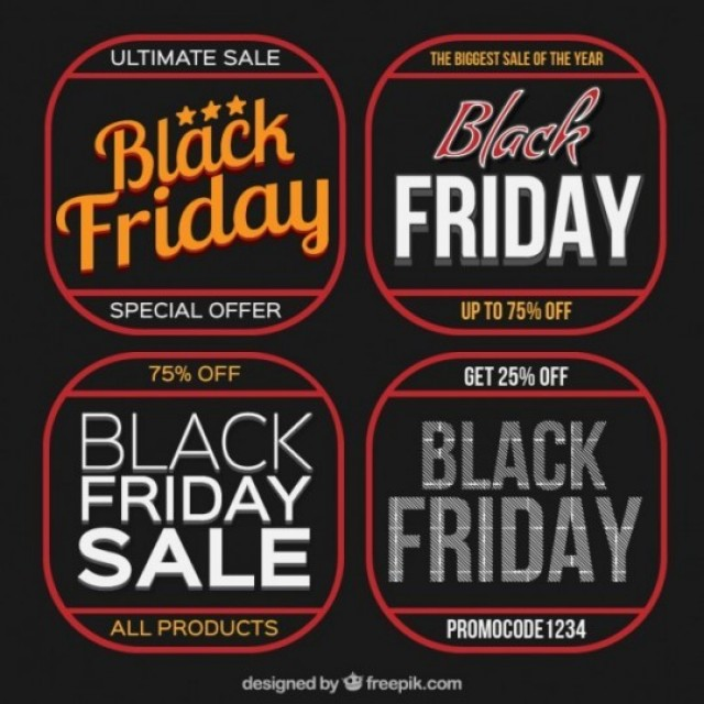 Get Ready for Black Friday: Sale Tags