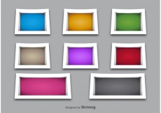 Free vector 3D Shelves and Frame Vectors #22534