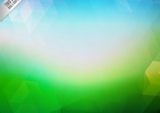 Free vector Abstract background in blue and green tones #20622