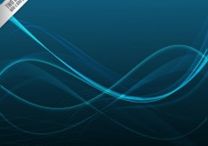 Free vector Abstract waves background #22585