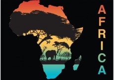 Free vector Africa Silhouette Vector #22924
