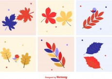 Free vector Autumnal Leaves Vectors #23871