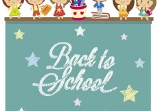 Free vector Back to school background #27227