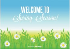 Free vector Beautiful Spring Background #22189