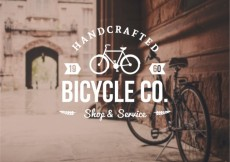 Free vector Bicycle badge in retro style #21288