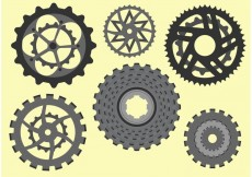 Free vector Bike Sprocket Free Vector #23154