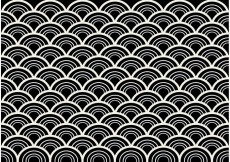 Free vector Black and White Seamless Abstract Pattern Vector #27592