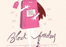 Free vector Black friday illustration #27894