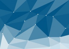 Free vector Blue Low Poly Vector #20264