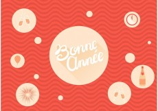 Free vector Bonne Annee Bubbly Free Vector #21532