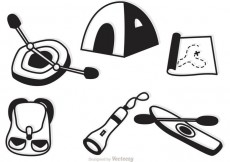 Free vector Camping And Recreation Icons Vector #22323