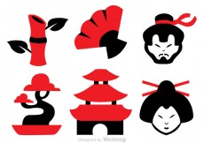 Free vector Chinese Culture Vector Icons #26314